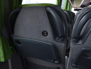Gniazda USB przy fotelach